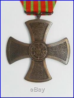 Med 112 Medaille Portugal Croix De Guerre 1917