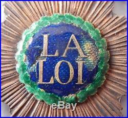 Med 184 Insigne De Magistrat La Loi
