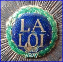 Med 184 Medaille Insigne De Magistrat La Loi