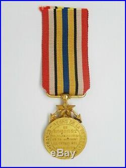Med 210 Medaille Francs Tireurs De La Presse 1870-1871