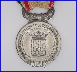 Med 521 Medaille Union Fraternelle Et Patriotique Combattants 1870-1871
