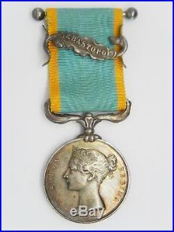 Med 594 Medaille Grande Bretagne Medaille De Crimee 1854