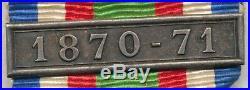 Médaille 1870 1871