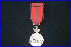 Medaille 1870-71 Societe Des Volontaires A La Branche De Houx-4° Zouave 1914-18