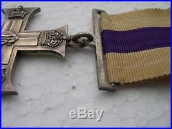 Medaille Anglaise GB Uk Military Cross MC
