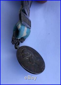 Médaille Coloniale Afrique Occidentale Française DAHOMEY- Sénégal Et Souda