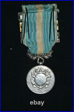 Medaille Coloniale Agrafes Tunisie-maroc 1925-1926 & Indochine-guerre Du Rif