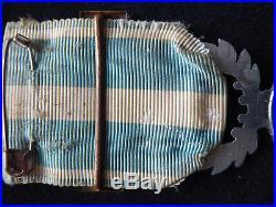 Médaille Coloniale Aluminium Barrette TUNISIE