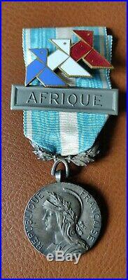 Médaille Coloniale Croisière Noire