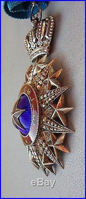Medaille Commandeur du Nichan El Anouar- french colonial order medal nicham
