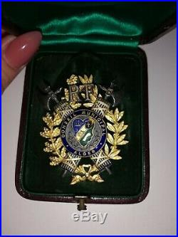 Medaille Conseil Municipal Alger