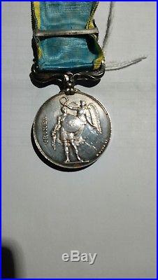Médaille Crimée 1854 agrafe Sébastopol