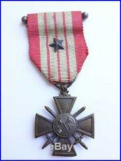 Medaille Croix De Guerre Giraud 1943