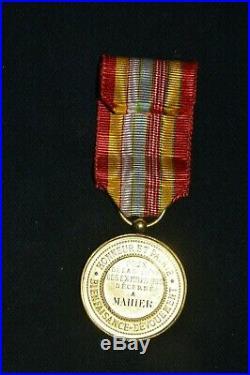 Medaille D'honneur Ancien Combattant Crimee-italie-chine-mexique Second Empire