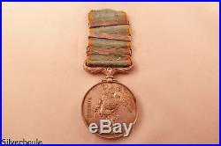 Medaille De Crimee Avec 3 Agrafes