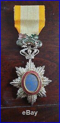 Medaille De L Ordre Du Dragon D Annam Indochine En Parfait Etat