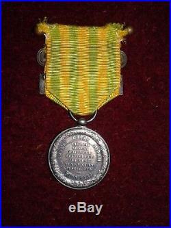 Medaille De L'expedition Du Tonkin 1883-1885 Modele Marine
