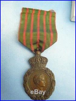Medaille De Saint -helene Avec Sa Boite