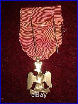 Medaille Debris De La Grande Armee Freres D'armes De Napoleon 1er