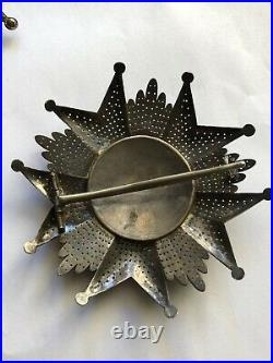 Medaille Decoration Insigne Plaque Argent De Grand Croix De La Legion D Honneur