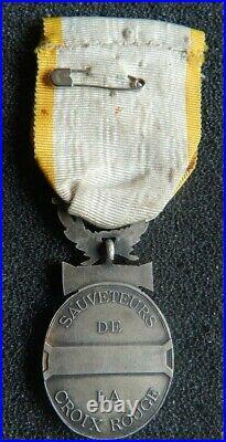 Medaille Des Sauveteurs De La Croix Rouge