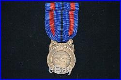 Medaille Des Victimes De L'invasion-3° Classe Bronze-grande Guerre 1914/1918