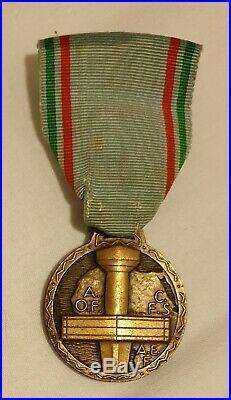 Medaille Du Merite De L'afrique Noire Francaise 1941 1944