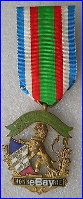 Medaille Federation Des Combattants De 1870-1871 Societe Fraternelle De Rouen