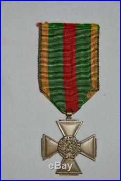 Medaille Guerre De 1870/1871-rare Croix Du Combattant Volontaire 1870-1871