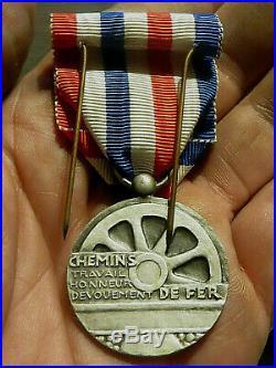 Medaille Honneur Des Chemins De Fer Coloniaux/sncf Togo Francais