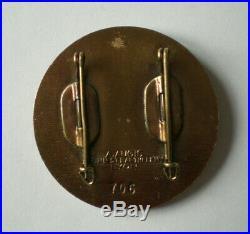 Medaille Insigne Moniteur Nationale De Ski Alpin Numerote
