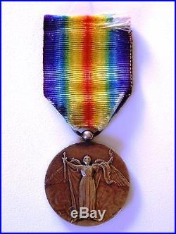 Médaille Interalliée cubaine / Cuba, fabrication Chobillon