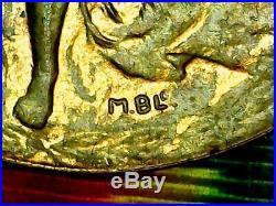 Médaille Interalliée de La Victoire 1914-1918. USA Pax Victoris / N°43