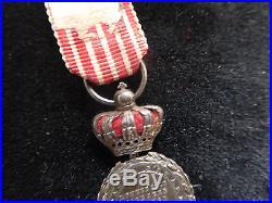 Médaille Italie Couronnée type 1 reduction Napoléon III