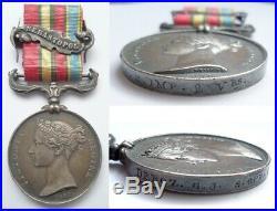 Médaille Militaire Crimée 1854 Empereur Napoléon 3 III Attribuée Garde Impériale