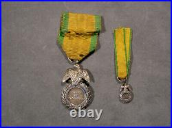 Medaille Militaire Louis Napoleon Decor Aigle Deuxieme Modele