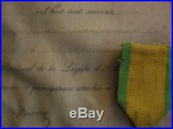 Medaille Militaire Trophee Biface Brevet Armee Vosges 4°bat Mob Gard 1870 1871