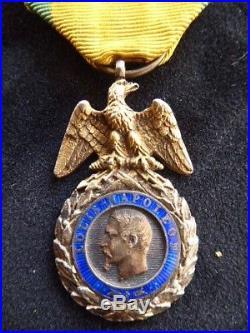 Médaille Militaire Type II BARRE Napoléon III