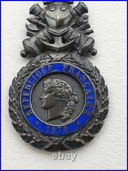 Médaille Militaire, monobloc, type de Versailles, émail en parfait état