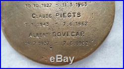 Médaille OAS ALGERIE FRANCAISE COMMANDOS DELTA DEGUELDRE 1°REP LEGION ETRANGERE