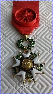 Medaille Officier Legion D Honneur En Or