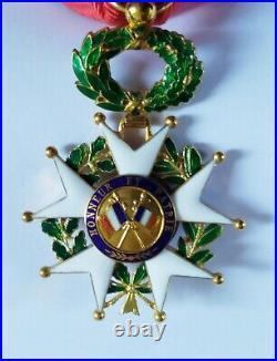 Medaille Officier Légion d'Honneur en Or IIIème Republique Boite Aucoc