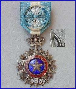 Medaille Officier du Nichan El Anouar- french colonial order medal nicham