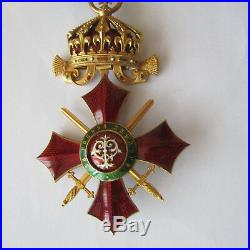 Medaille Ordre Militaire Bulgarie Bulgaria Bulgarian Military Order Medal