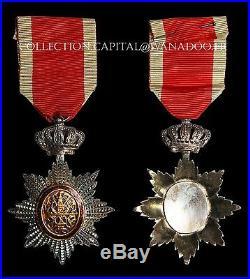 Médaille Ordre Royal du Cambodge (Croix Chevalier) Argent émail+ Boite