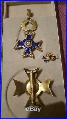Médaille Ordre du mérite portugais