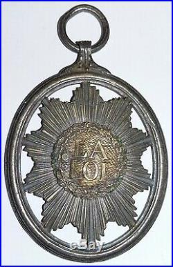 Médaille Révolution 1792 France Juge de la Convention insigne badge de fonction