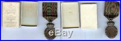 Médaille SAINT HELENE boîte originale et médaille NAPOLEON III