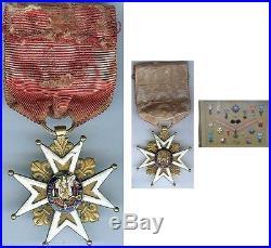 Médaille SAINT LOUIS en Or 17 grammes brut d'époque poinçon aigle