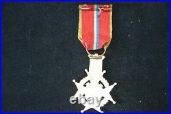 Medaille Sauveteur & Brancardier Du Haut Rhin (mulhouse)-siege De Belfort 1870